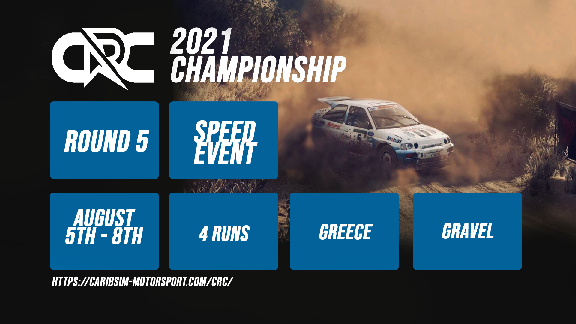 CRC Rally Championship – Round 5 – Greece Speed Event – Results