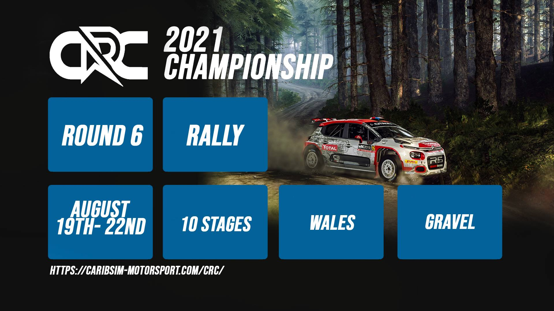 CRC Rally Championship – Round 6 – Wales – Results